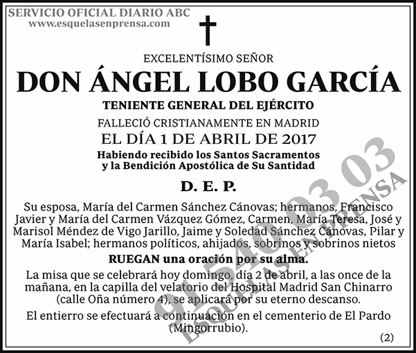 Ángel Lobo García